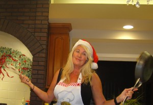 cooking at christmas